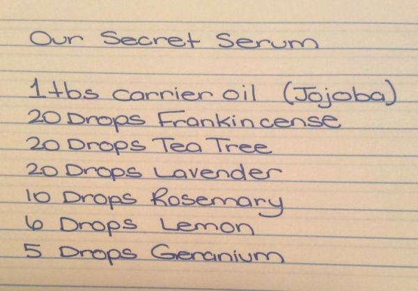 This face serum smells amazing, and what it does for our skin is incredible! Wri...