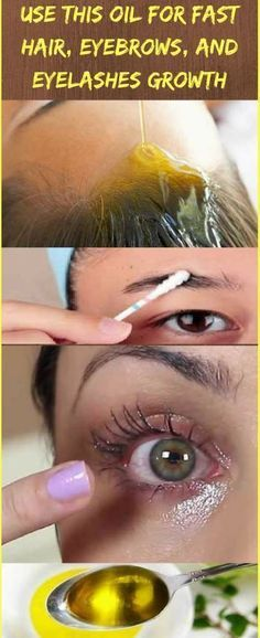 Use This Oil For Fast Hair, Eyebrows, and Eyelashes Growth [Instructions + Ingre...