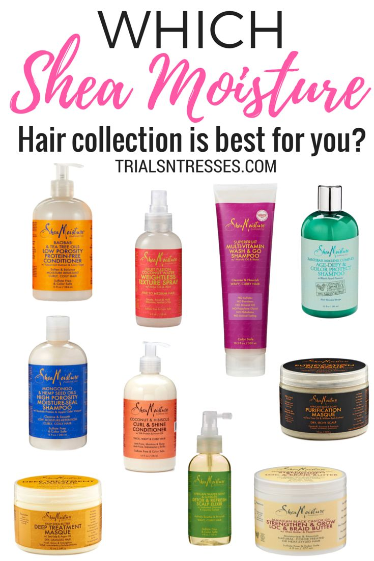 Which Shea moisture Hair collection is best for you? SheaMoisture