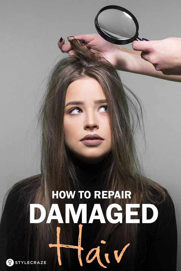 Bring Your Damaged Hair Back To Life In Only 30 Minutes – All You Need Is One ...