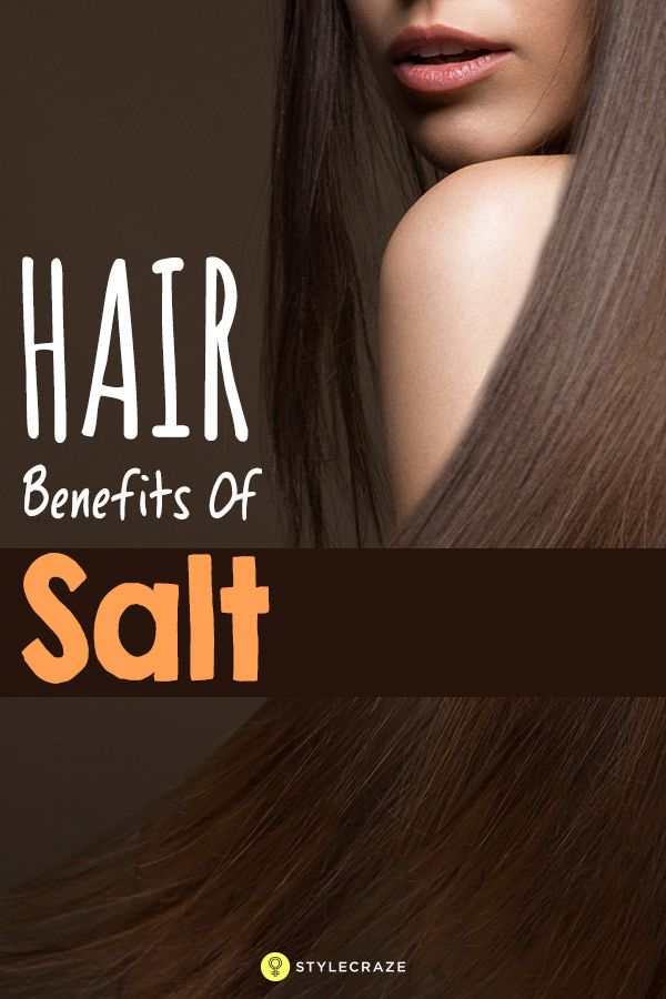Put Salt In Your Shampoo Before Showering. This Simple Trick Solves One Of The B...