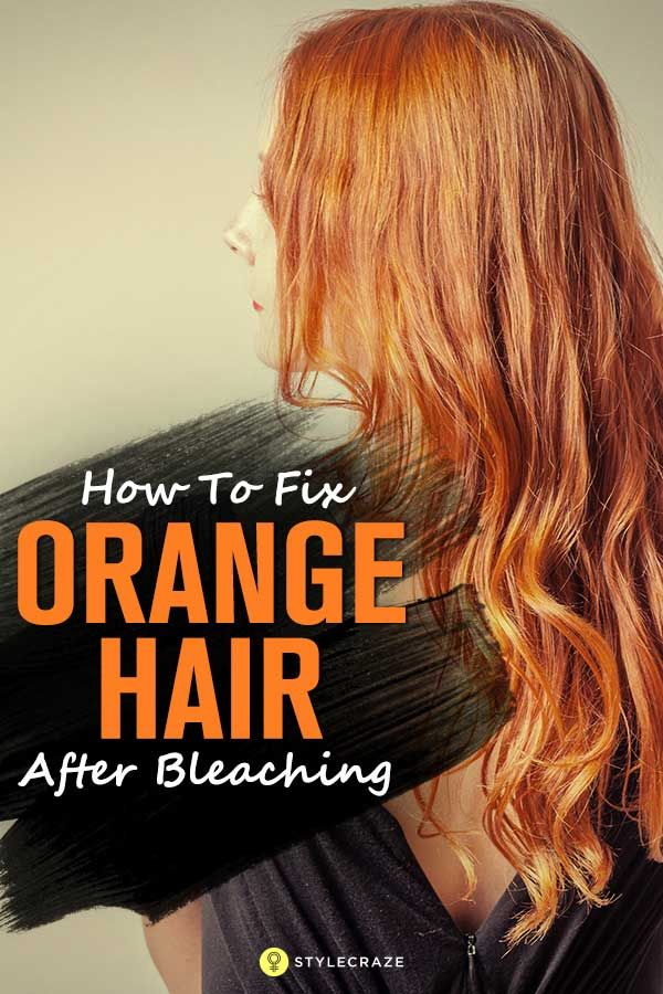You try to lift a few shades off of your hair, expecting a nice shade of blonde,...