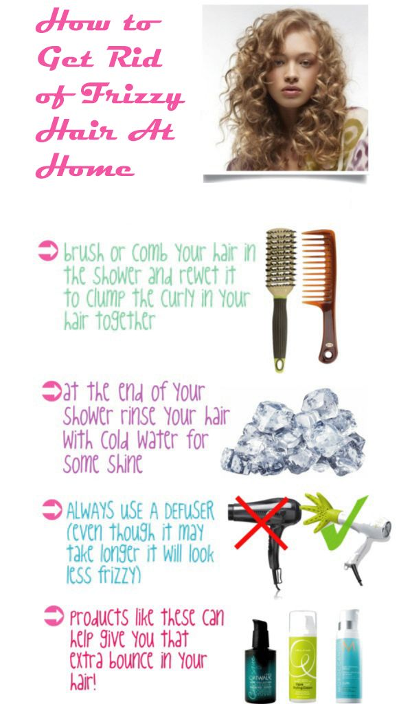 How annoyed with frizzy hair? Instead of using expensive hair solutions  loaded ...