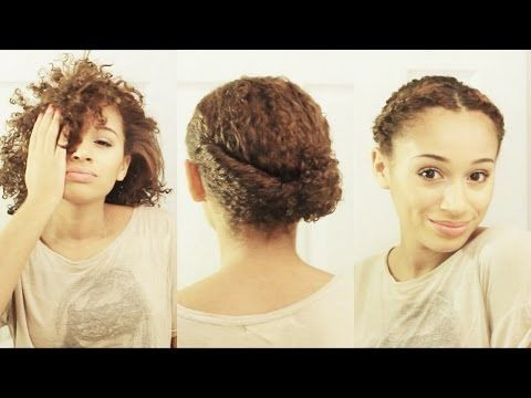 10 Hairstyles for SHORT Curly Hair - YouTube GREAAAAAAAT!!!!