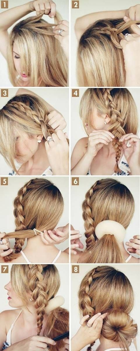 16 Pretty Long Hairstyles with Tutorials | Pretty Designs