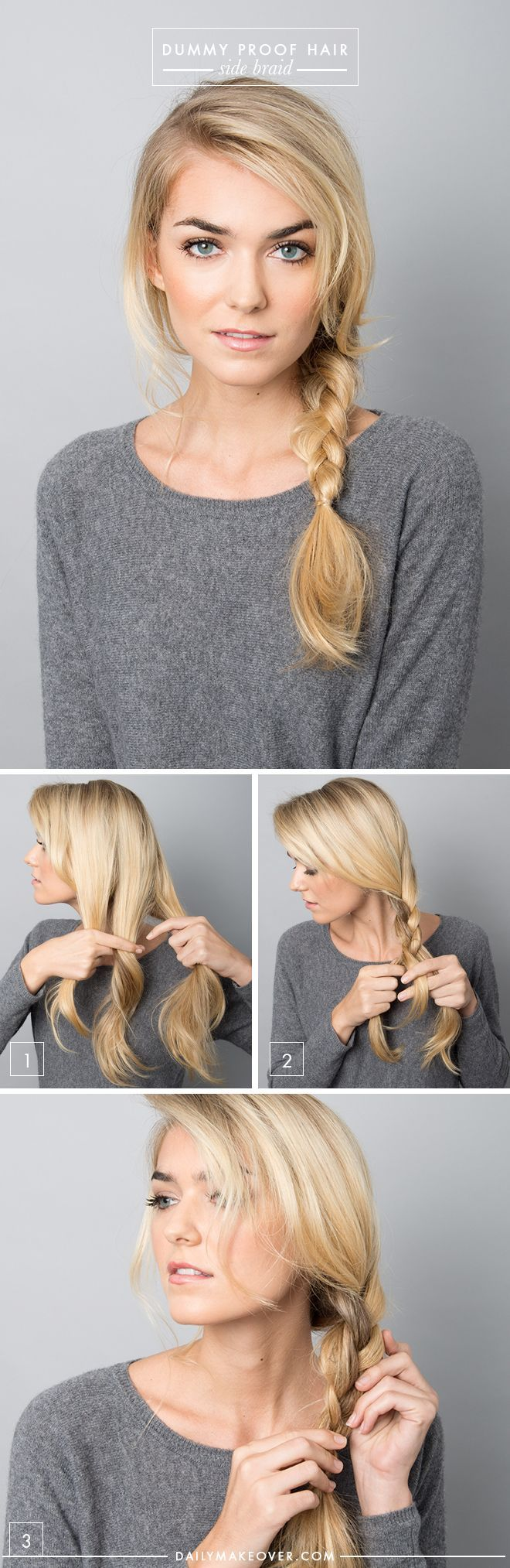 5 Dummy Proof Hairstyles That Everyone Can Master Read more: www.dailymakeover.....