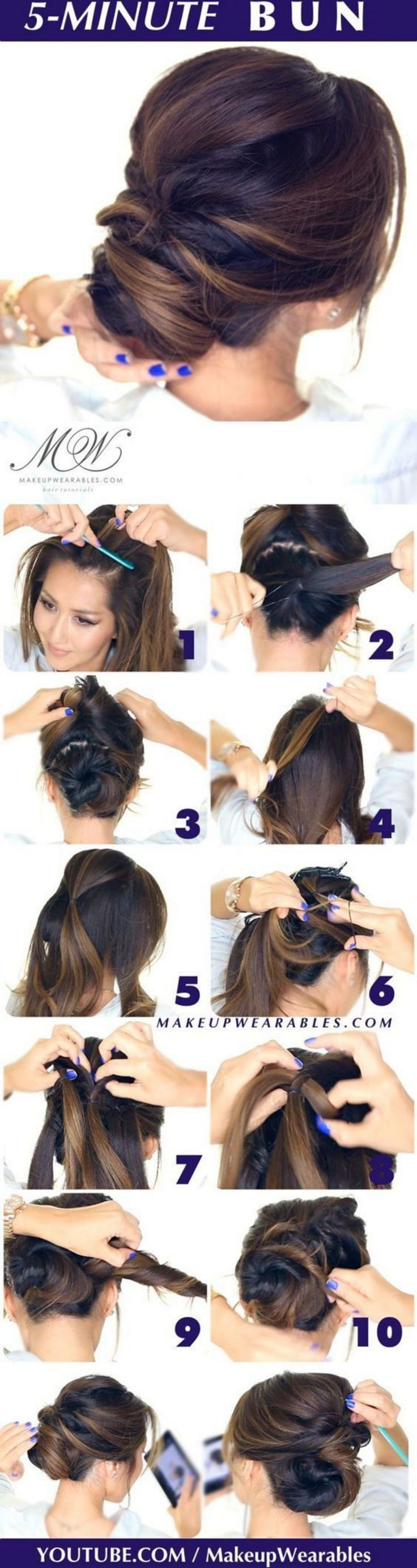 80+ Excellent And Super Easy Updos For Long Hair Inspirations montenr.com/...