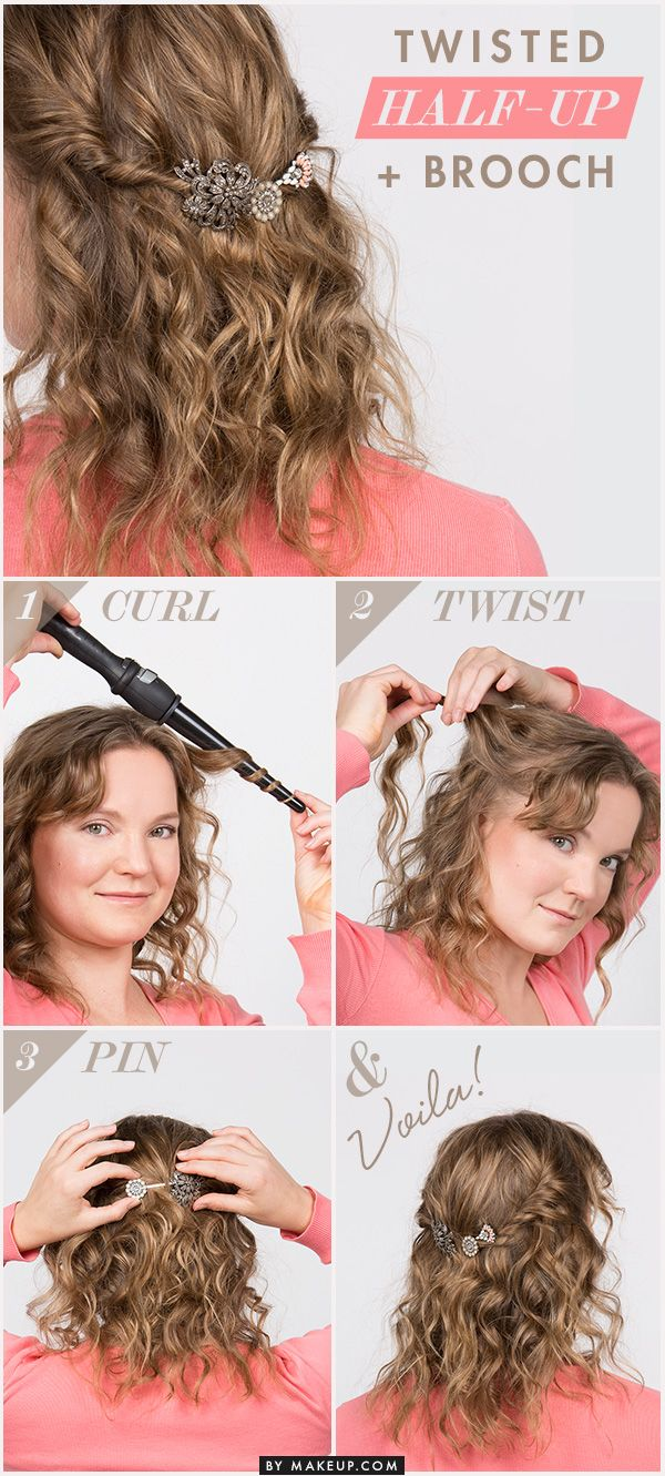 A half updo can take a simple hairstyle to a new level. Follow our easy instruct...