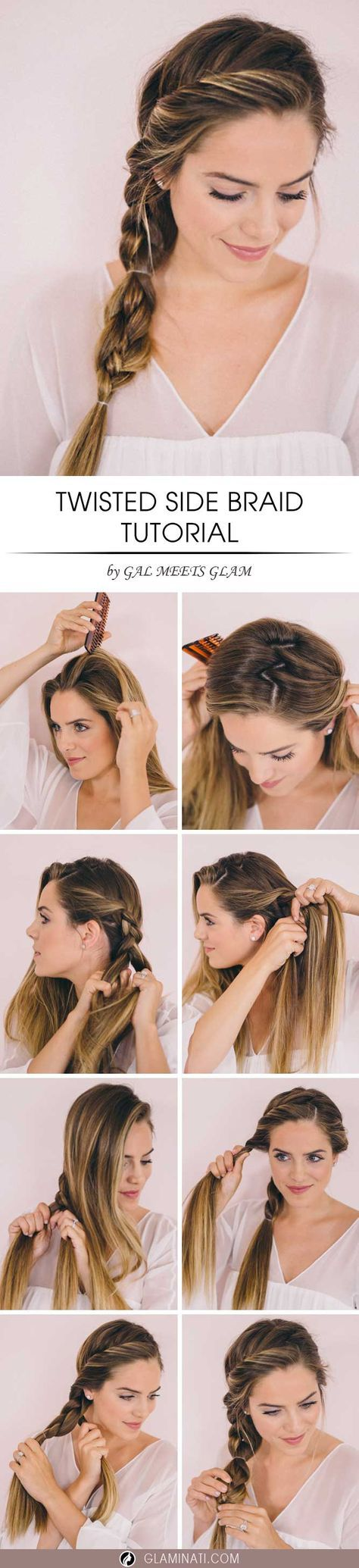 A side braid is trendy right now. It is perfect for everyday wear and some fancy...
