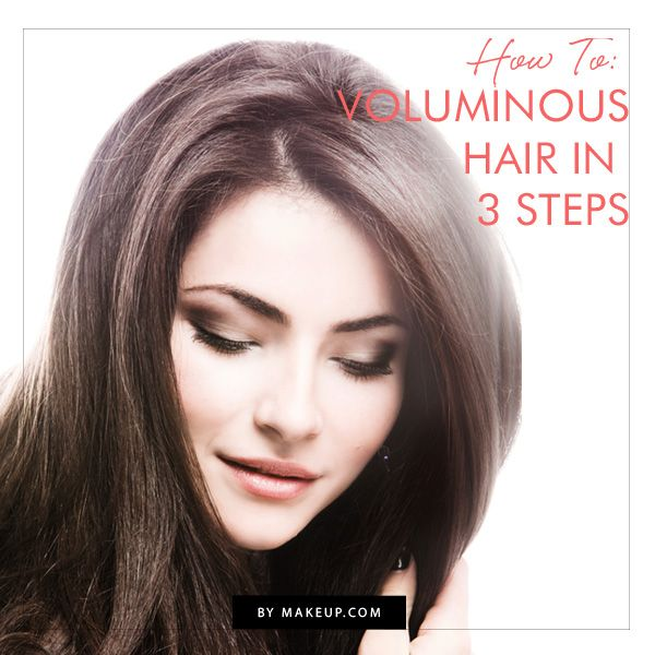 Give your hair a little more body in 3 easy steps. Follow this hair tutorial for...