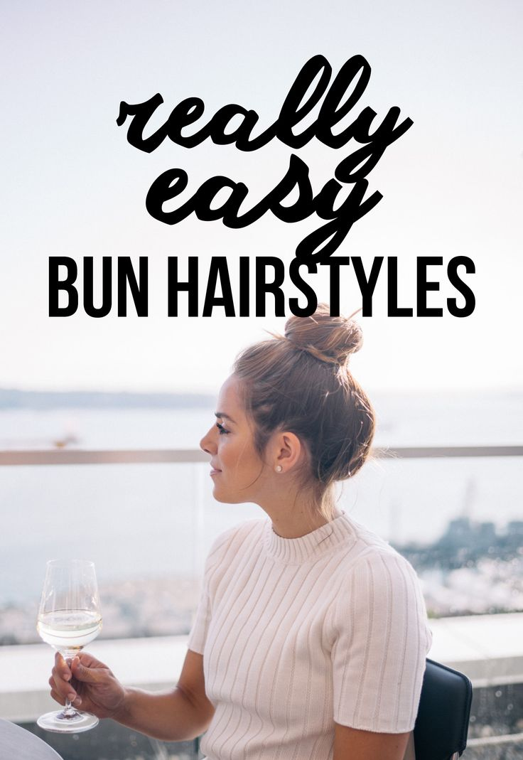 Buns are super easy to do, but give a really different look to any outfit. From ...