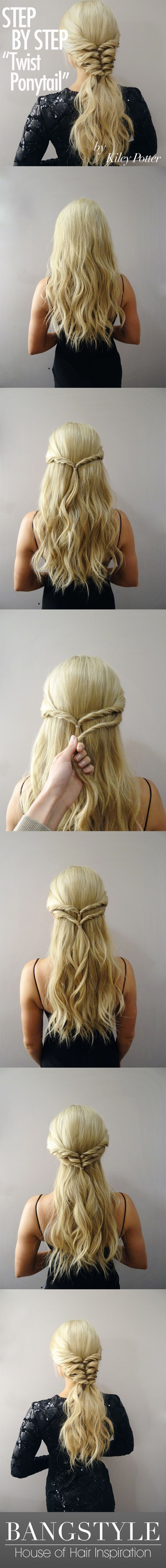 Can't decide between a pony tail and a braid? Bring both together in perfectio...