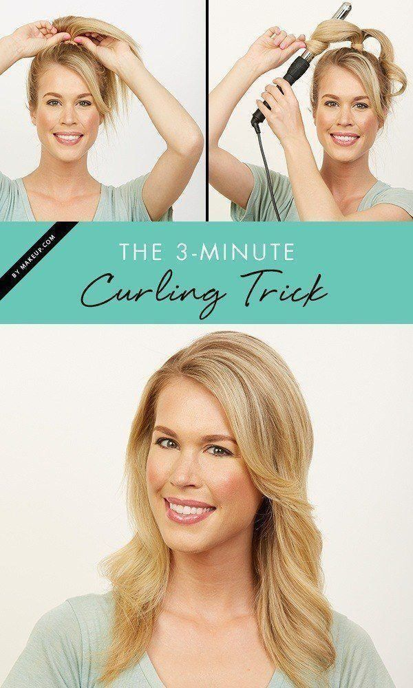 Curling your hair doesn't have to take hours! With this easy hair tutorial t...