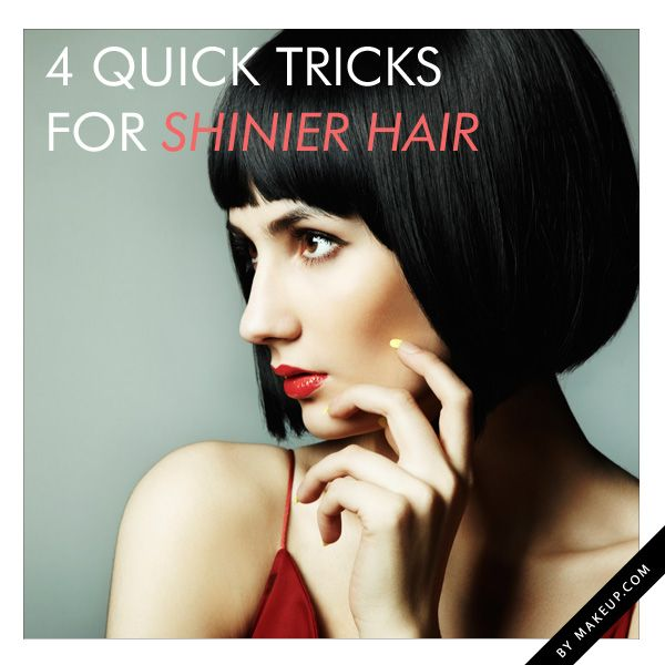 Shiny hair is something we all want but it often seems like we can't all get...