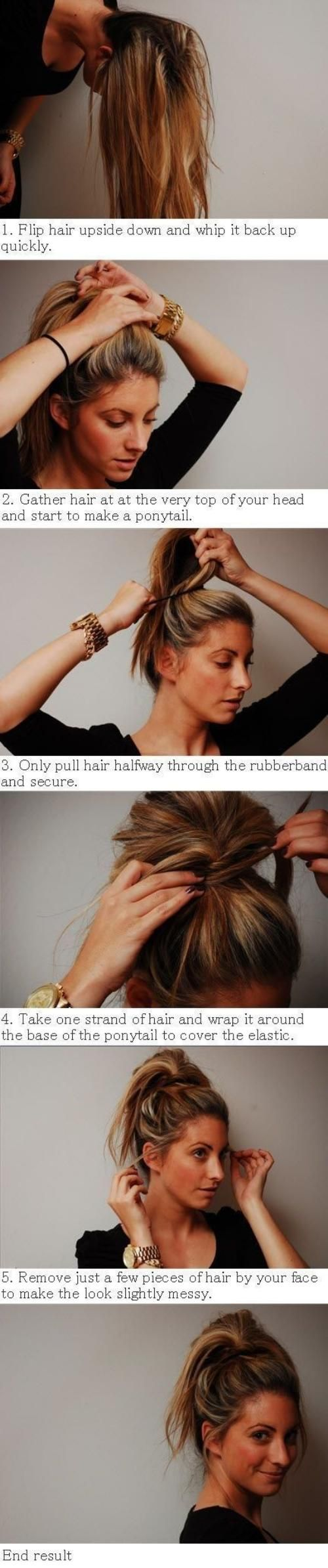 For when my hair gets long enough... X) 26 Do it yourself hair-styles
