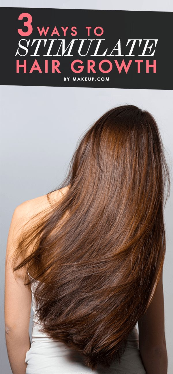 Get longer hair faster with this cheat sheet for how to stimulate hair growth.