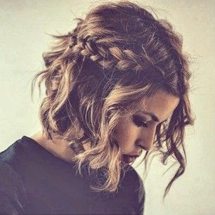 Gorgeous hair idea for every day or for a fancy occasion. Get your hair styling ...