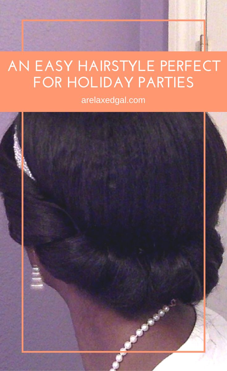 Got lots of holiday parties to attend? Click to see an easy hairstyle that's...