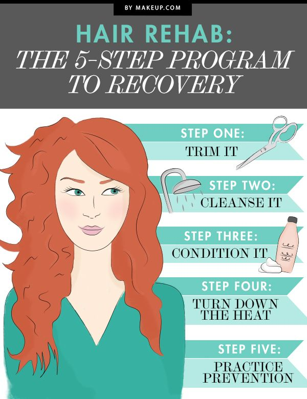 Hair goes through a lot, but between the coloring, heat and products, you could ...