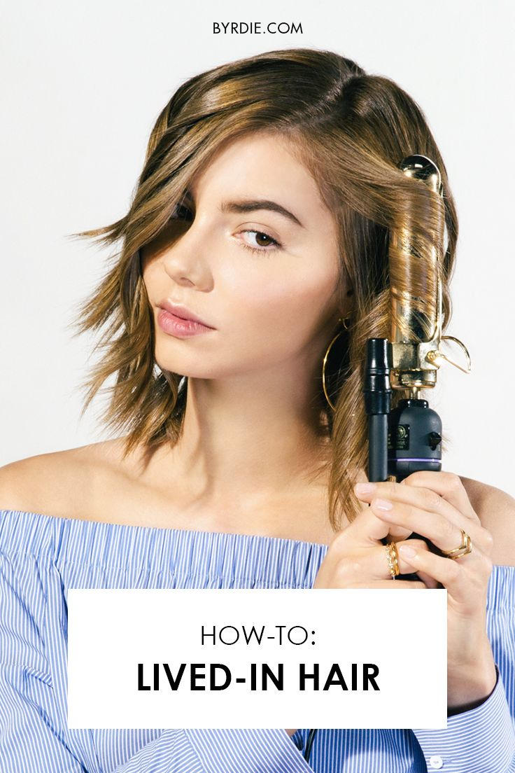 How to create a lived-in hair look