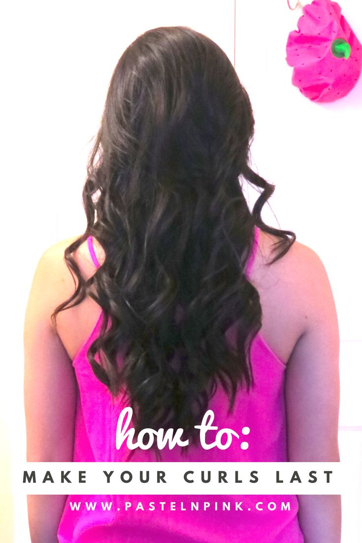 How to make your curls last - tips and tricks