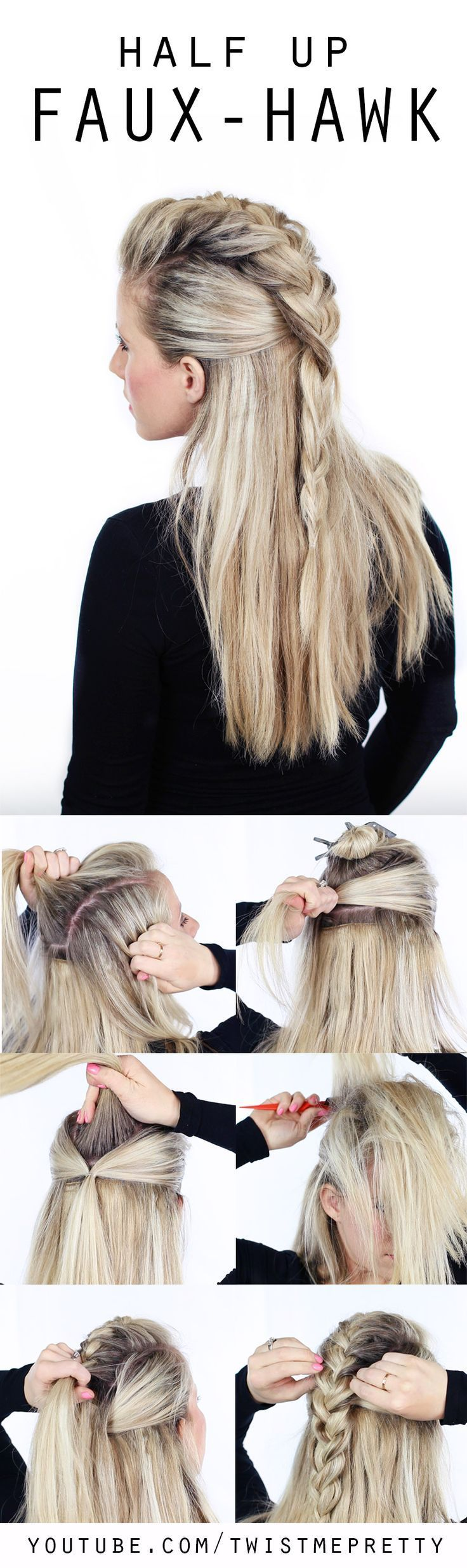 How to Tame Your Hair: Summer Hair Tutorials | Pretty Designs | thebeautyspotqld...