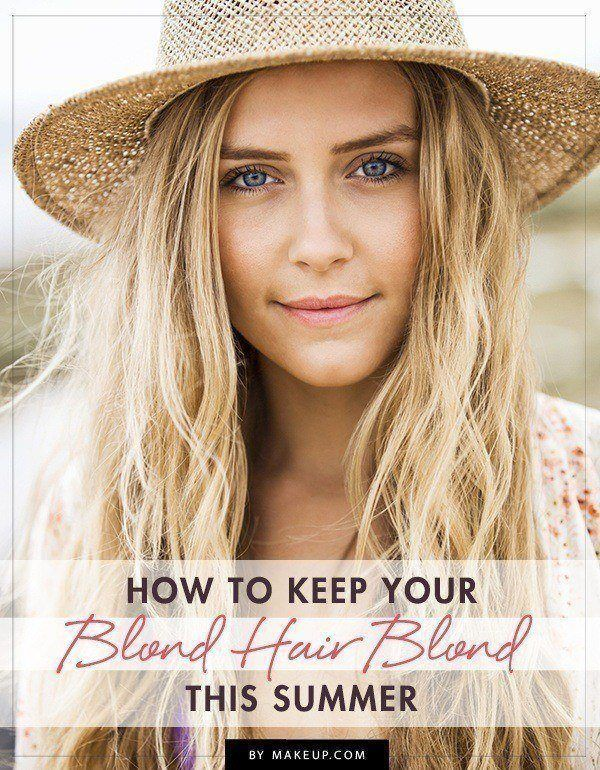 If you're not a natural blonde, it takes a lot to keep sun kissed locks lookin...