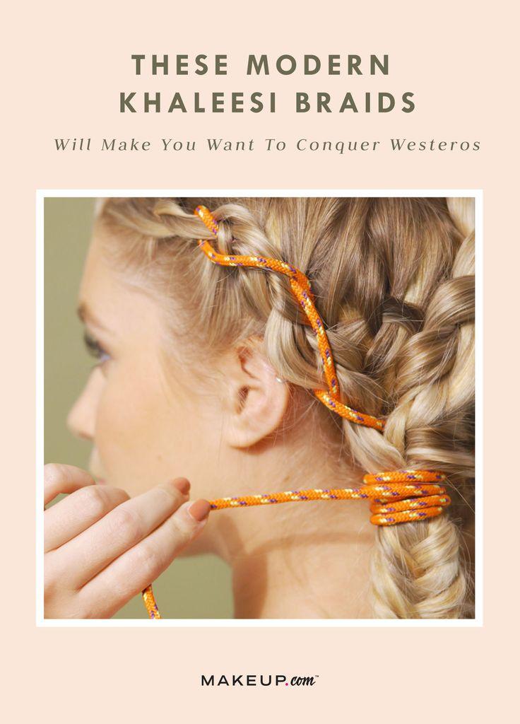 #khaleesi #GameOfThrones #hairstyle #braids #braidstyles #got #halloween2017 #ha...