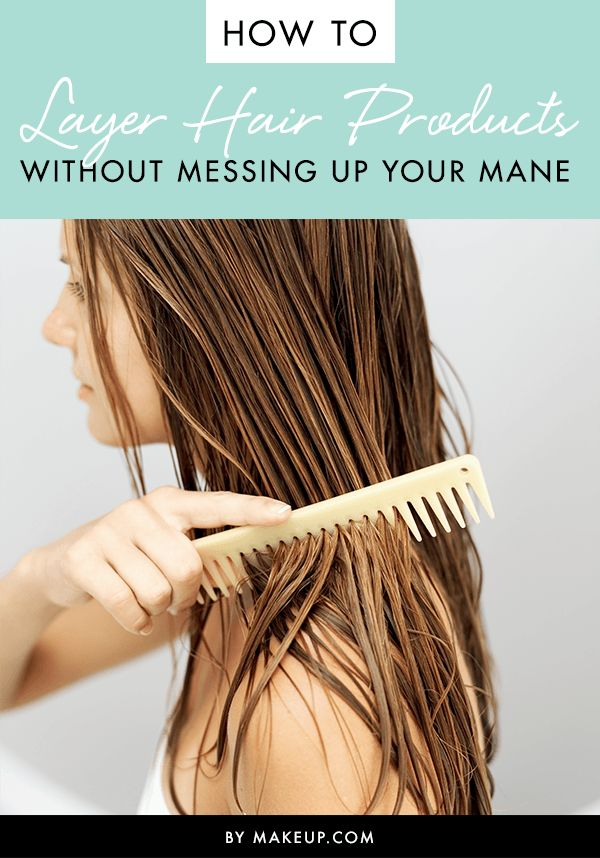 Knowing how to layer your hair products can make all of the difference in the lo...