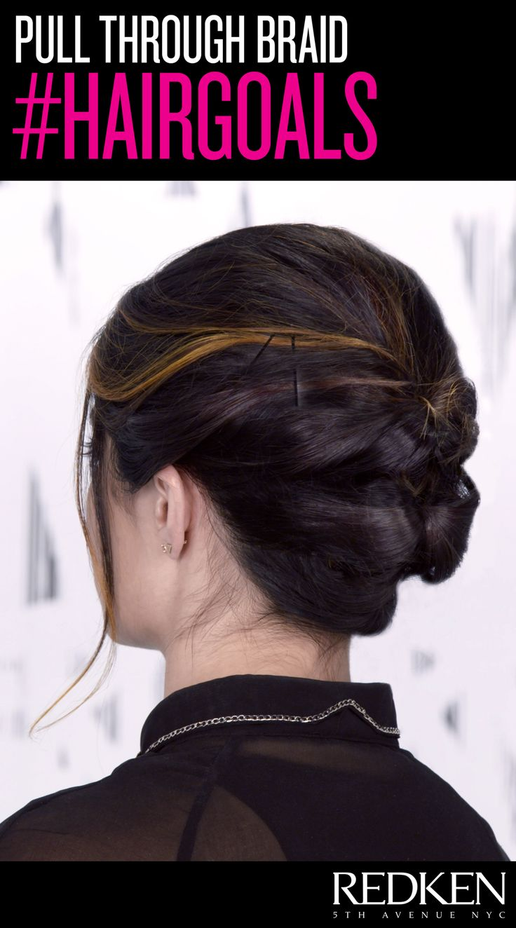 looking for a short summer style? try this updo!