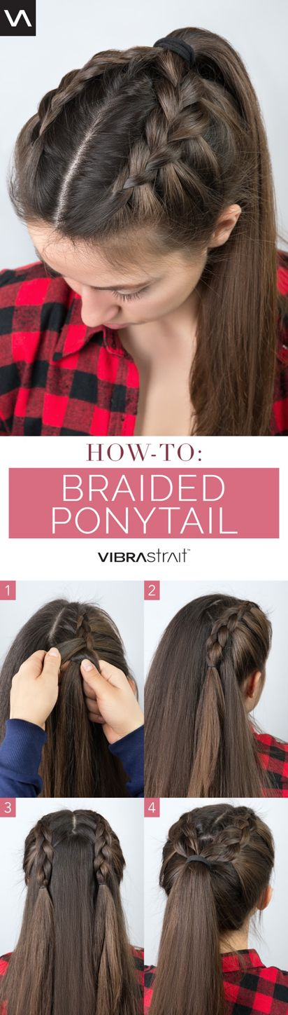 Loving this season's braid trend as much as we are? Try out this fun and uniqu...