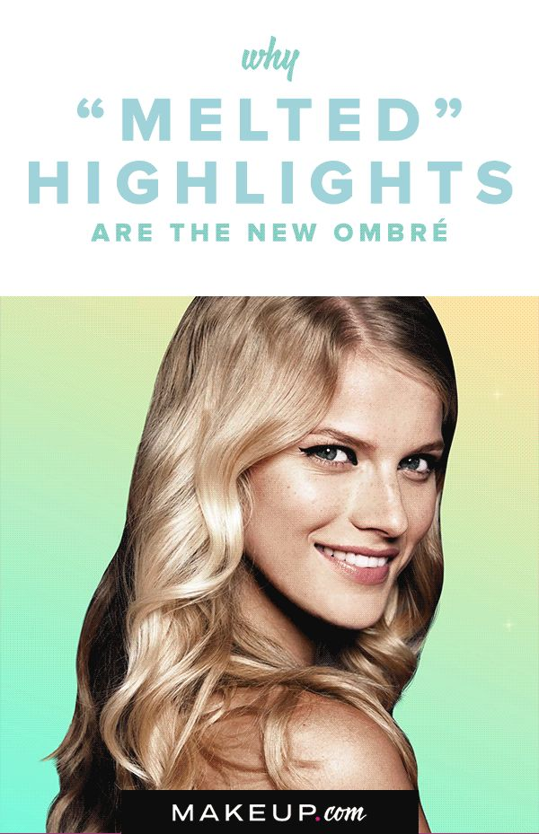 Ombré hair still has our hearts, but melted highlights are quickly becoming a f...
