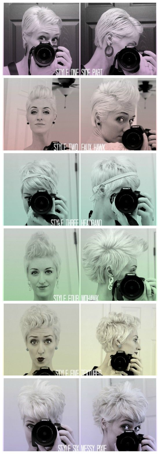 One cut. Six Styles. | if I ever have the courage to chop off all my hair, good ...