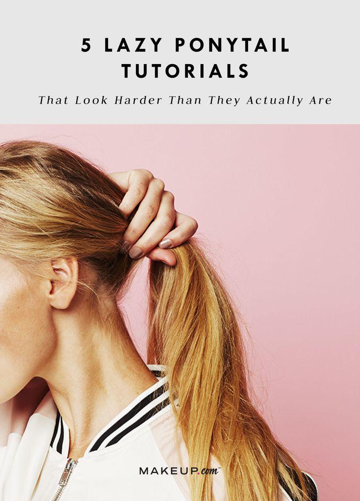#ponytails #hair #hairstyle #hairstyles #longhair, #mediumhair #tutorial #hairtu...