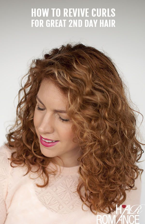 Reader Question: How do I revive my 2nd day curls back to life