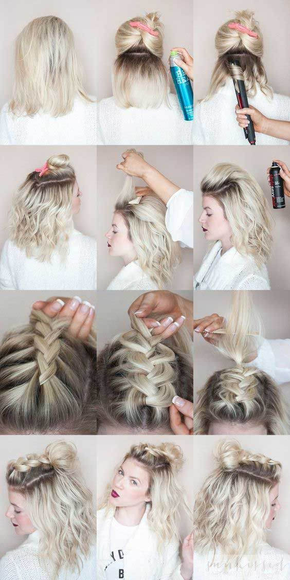 Remember the days of the sock bun? You literally couldn't go anywhere without ...