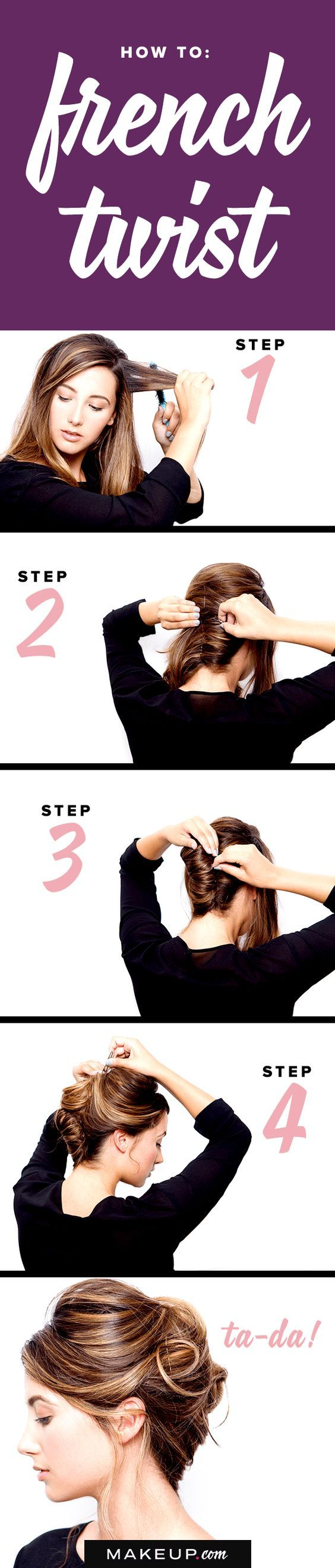 Some hairstyles will never go out of style, and the classic French Twist is one ...