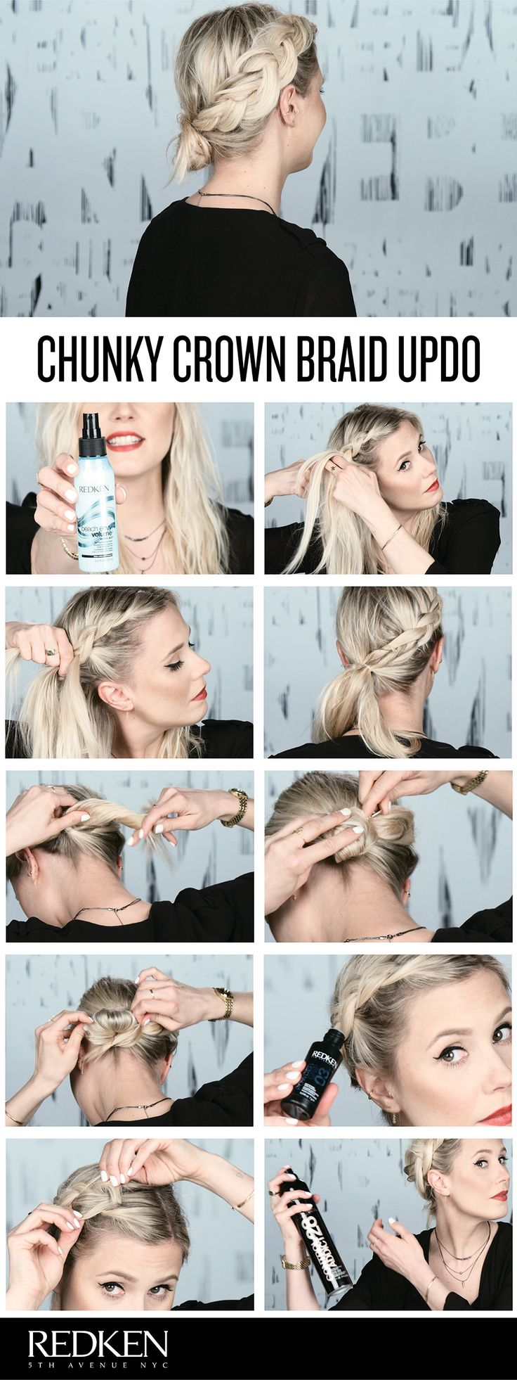 Summer festivals are a fun place to try out a trendy hairstyle. In this tutorial...