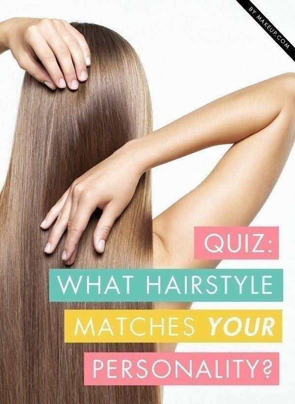 Take our hairstyle quiz to find out whether you're more of a straight, sleek...