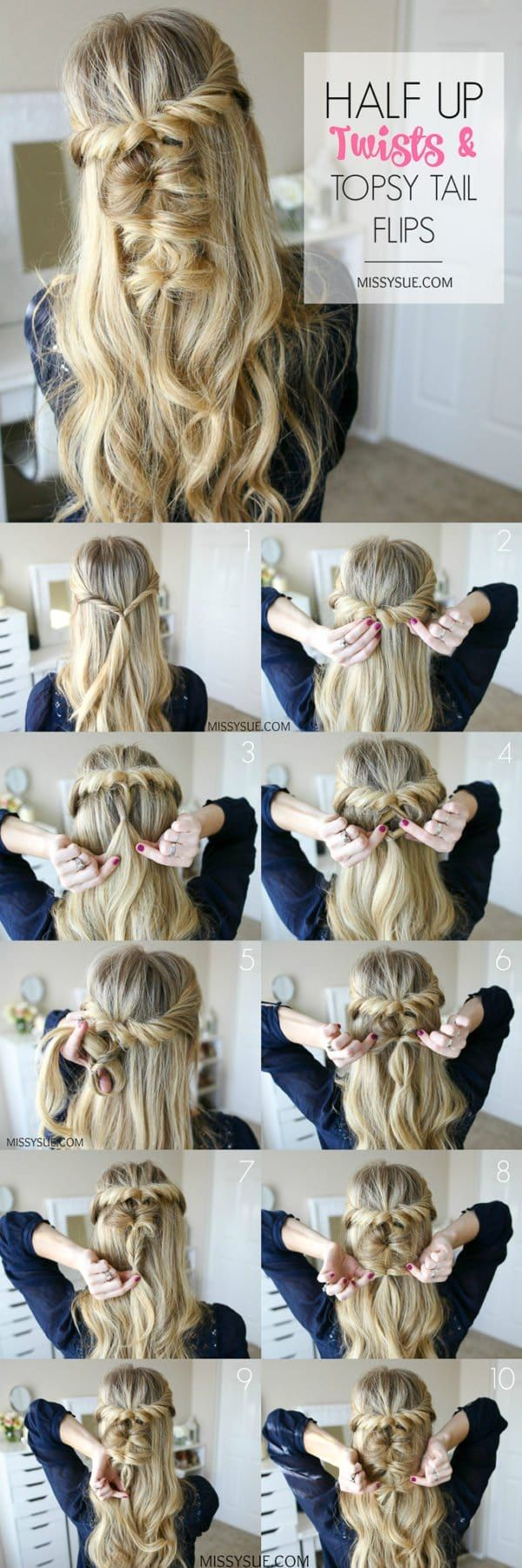 The Best Hairstyles Tutorial For A Perfect Prom Look