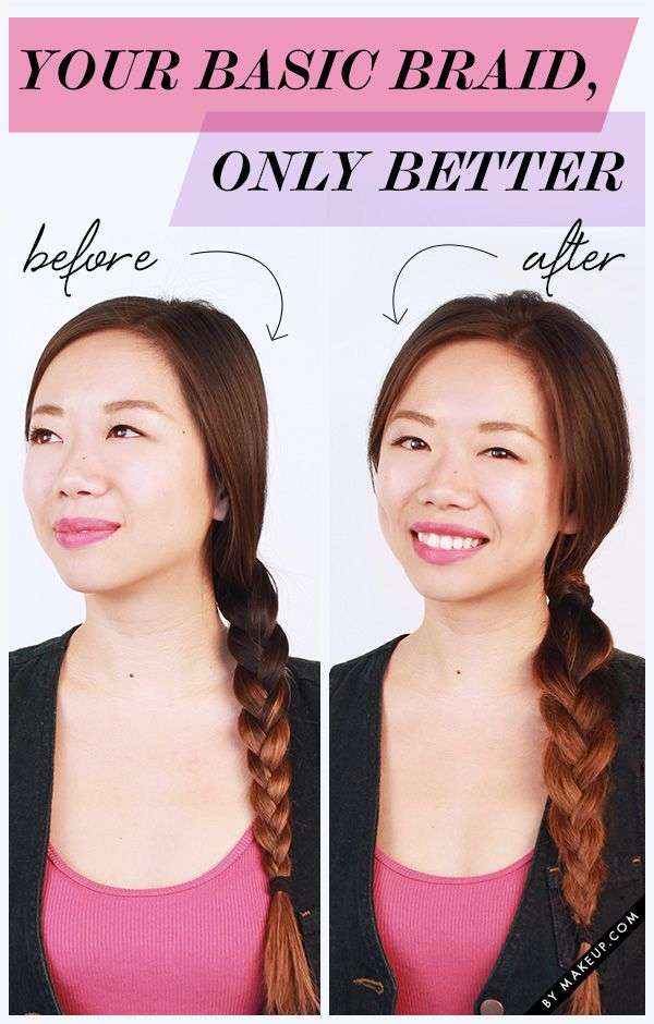 how to do a messy braid