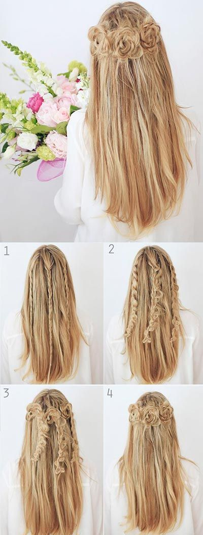 These Half Up hairstyle tutorials are great for that impeccable look. Also, they...