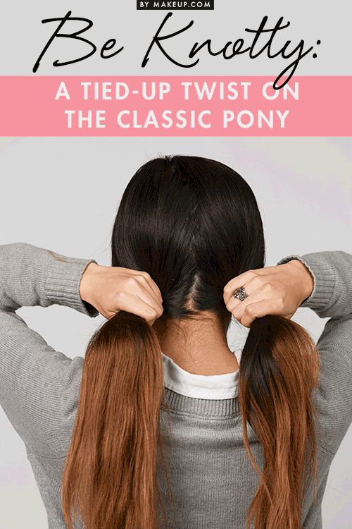 This hair tutorial for an updated version of the classic ponytail is great for l...