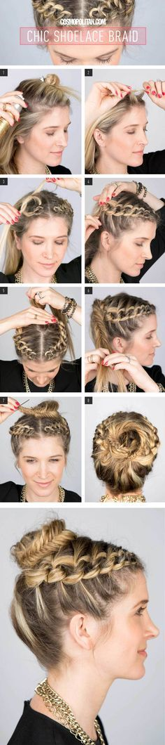 This I so cool! But to think she's just putting alot of knots in her hair an...