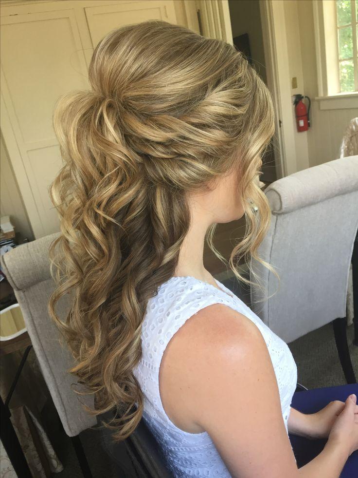 Half-Up Half-Down Wedding Hair eroticwadewisdom....