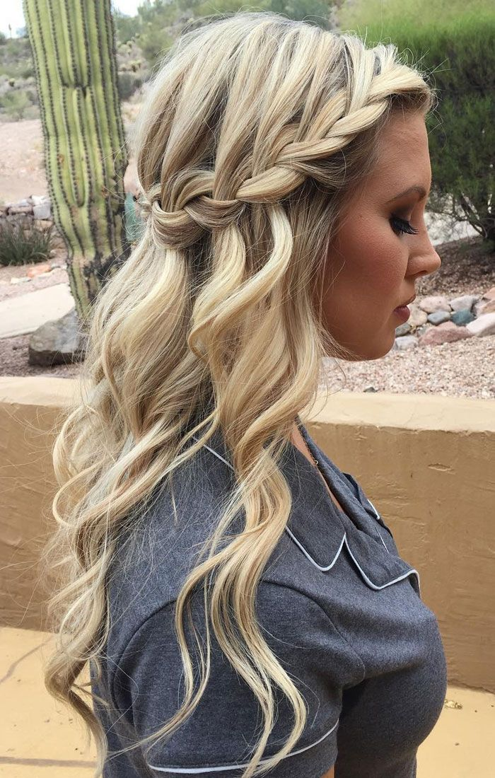 Looking for boho ,effortless and casual hairstyle from prom hairstyle to wedding...