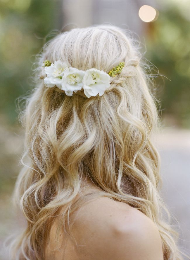 Half Up Half Down Wedding Hairstyles Loose Half Up Braid Wedding Hairstyle Photo Austingrosblog Com Beauty Haircut Home Of Hairstyle Ideas Inspiration Hair Colours Haircuts Trends