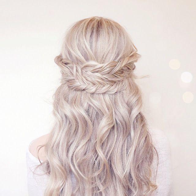 Summer Hair | Wrap Around Fishtail Braids lovecatherine.co.uk Instagram catherin...