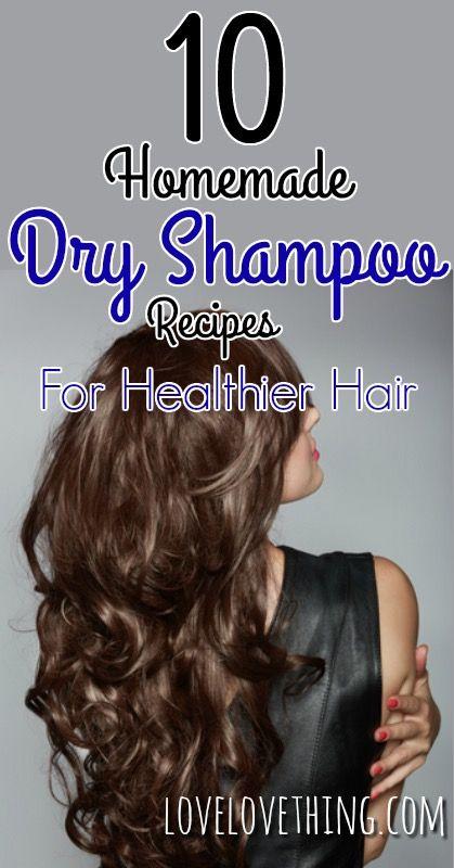 10 Homemade Dry Shampoo Recipes