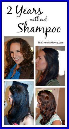 2 Years Waithout Shampoo - TheCrunchyMoose.com